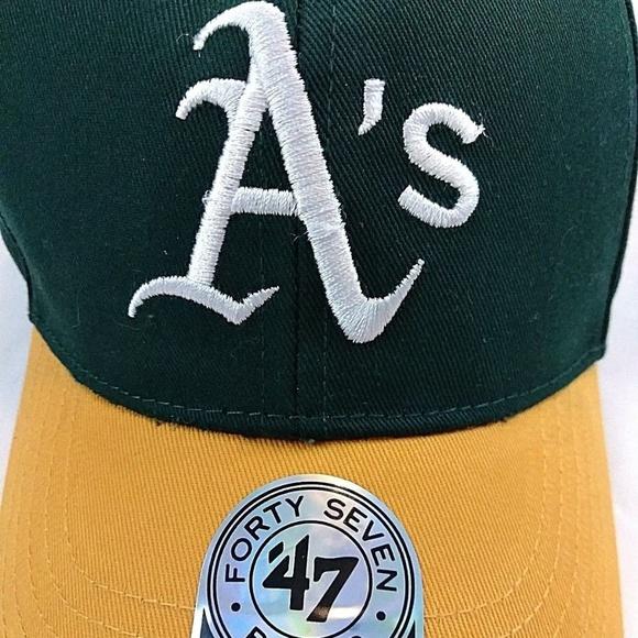 Oakland Athletics Kids Baseball Hat cap 47 213321bb0579